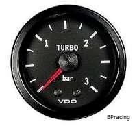 VDO Cockpit Vision turbónyomásmérő 3,0 bar