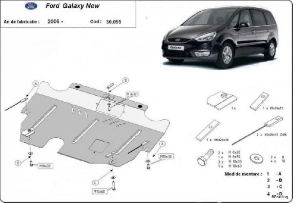 Ford Galaxy 2006- motorvédő lemez - BPracing.hu - webáruház d91932f516