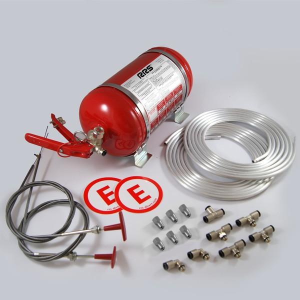 Ecofirex homológ tűzoltórendszer