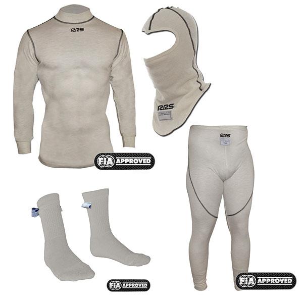 Nomex komplett homológ alsóruházat: maszk+pulóver+nadrág+zokni