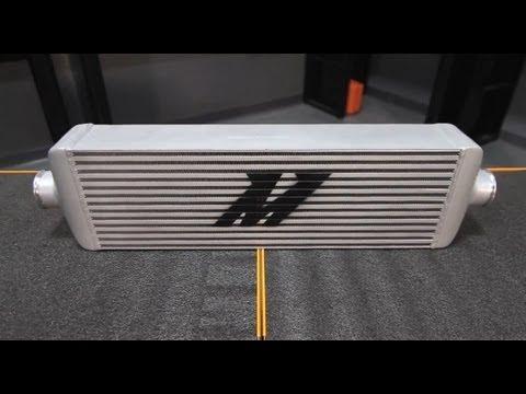 Mishimoto J-line intercooler 560x180x95 (szürke)