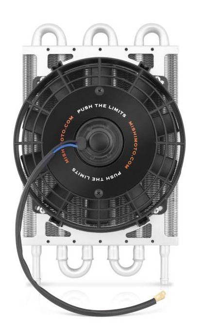 Mishimoto Heavy Duty váltóolaj hűtő ventilátorral