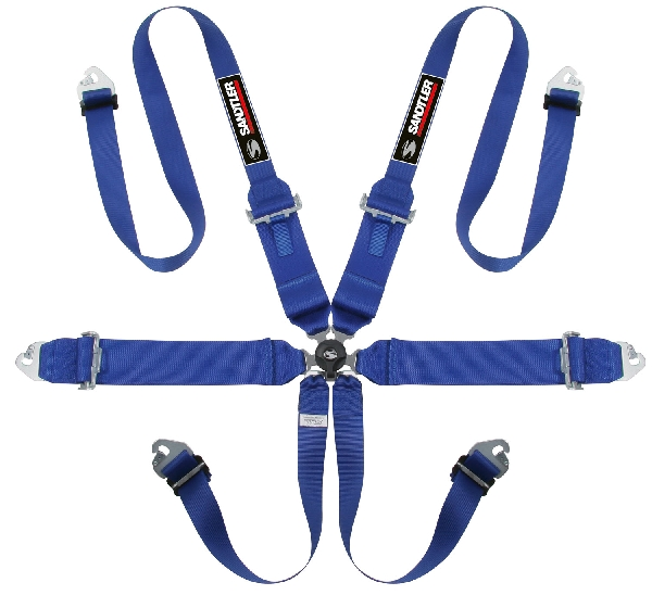 Sandtler TRS Magnum HANS homológ hatpontos biztonsági öv (kék)